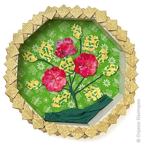 Цветы из фантиков