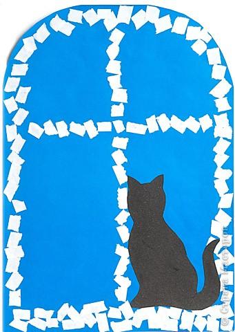 Кошка у окошка