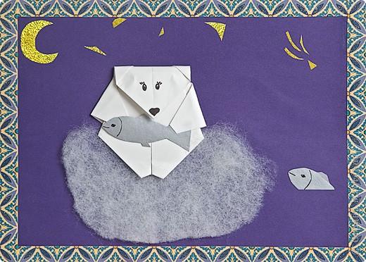Мишка на льдине