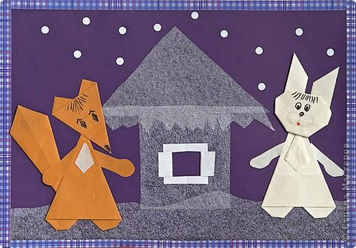 Урок оригами по сказкам