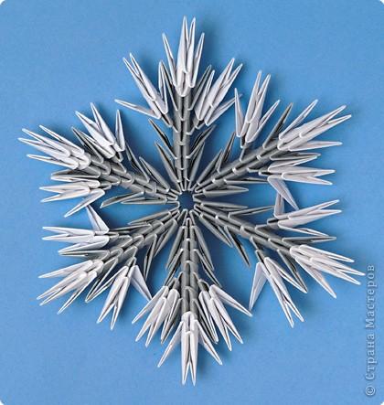 Модульные снежинки своими руками