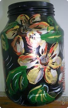 Цветы в жостовской технике на бумаге Лера освоила. фото 2
