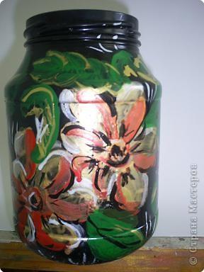 Цветы в жостовской технике на бумаге Лера освоила. фото 1