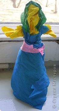 Моделирование: Куклы из мятой бумаги. фото 1