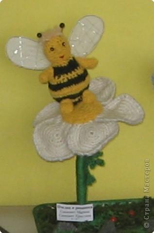 Вязание крючком: Пчелка Майя