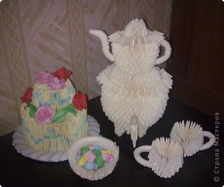 Оригами модульное: Приглашаю на чай))) фото 2