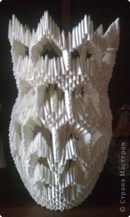 Оригами модульное: Ваза