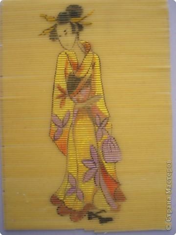 живопись на макаронах(спагетти,гуашь) фото 2
