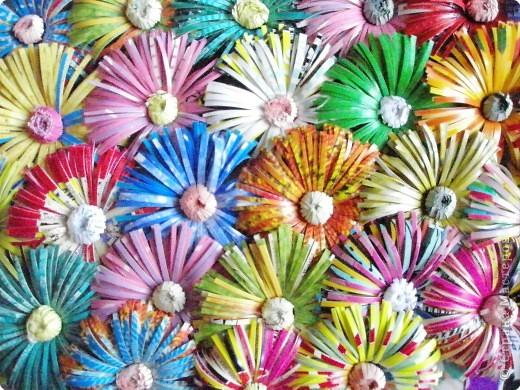 Корзинка с цветами фото 2