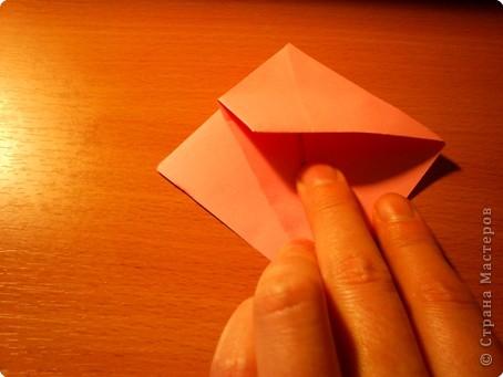 """Кусудама """"Электра"""". Автор David Mitchell Для работы приготовьте квадраты со стороной 75мм. Хорошо подходят стикеры двух цветов (http://stranamasterov.ru/node/16443) по 60 квадратов разного цвета.  фото 9"""