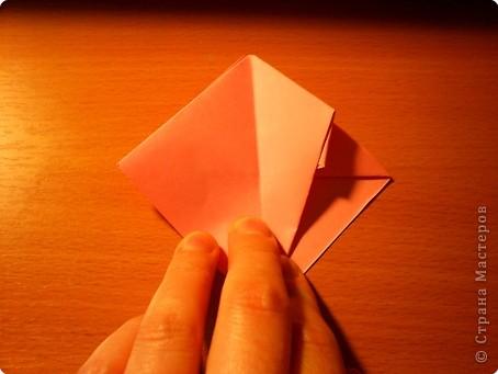 """Кусудама """"Электра"""". Автор David Mitchell Для работы приготовьте квадраты со стороной 75мм. Хорошо подходят стикеры двух цветов (http://stranamasterov.ru/node/16443) по 60 квадратов разного цвета.  фото 10"""