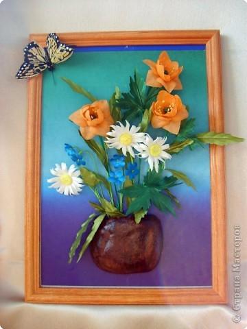 Не определена: Букет с бабочкой фото 1