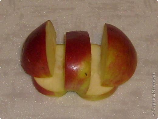 Карвинг: Мастер-класс. Яблочный лебедь. фото 3