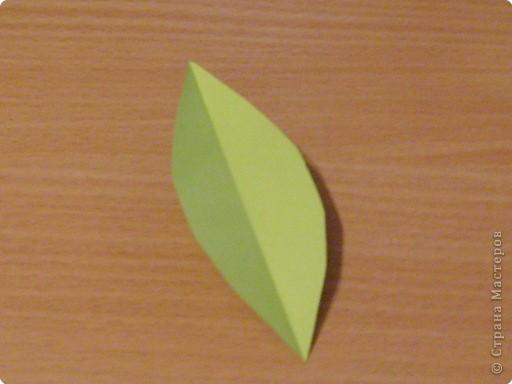 Моделирование: Мастер-класс. Бумагопластика. Изготовление листа. фото 2
