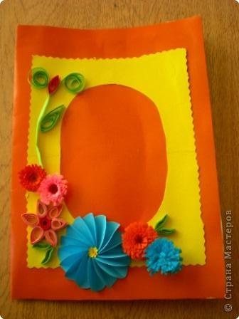 Квиллинг: Открыточки для любимых мамочек фото 3