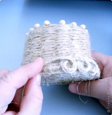 . Не долго маявшись, решила совершить еще один подвиг и попробовать себя в плетении корзин. Как-то громко сказано! Корзинки. :)))) фото 11