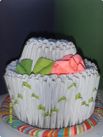 Мой первый  низкокалорийный тортик!