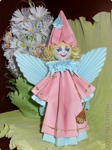 Оригами модульное: Лесная фея фото 1