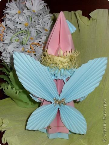 Оригами модульное: Лесная фея фото 2