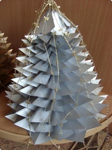 Оригами: Елочки  фото 2