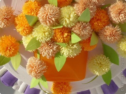 Квиллинг: Оранжевое настроение фото 2