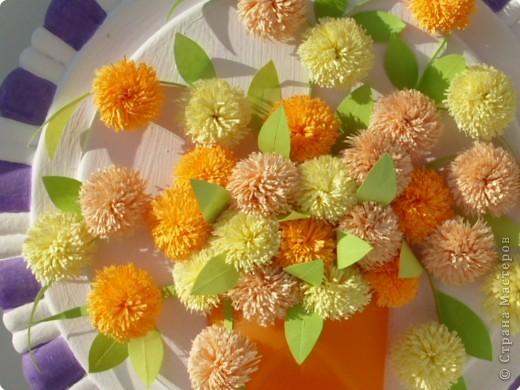 Квиллинг: Оранжевое настроение фото 3