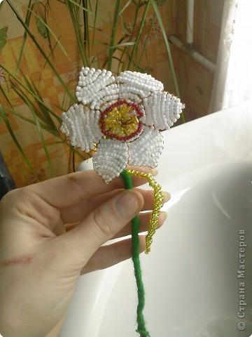 Бисероплетение: Несколько моих цветочков* фото 6
