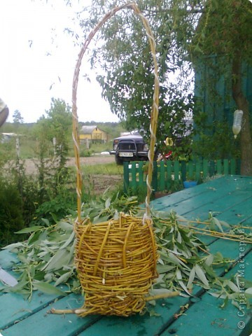 Плетение: Кашпо  фото 2