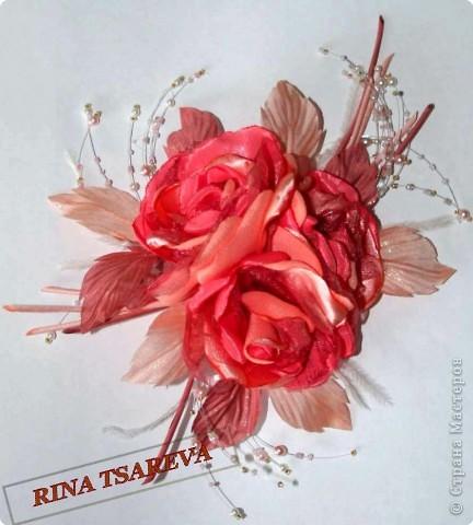 Шелковые цветы фото 1