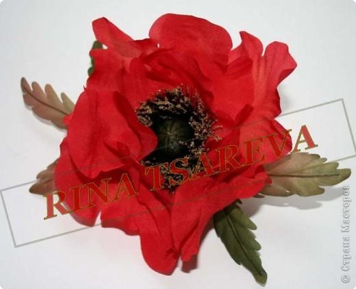 Шелковые цветы фото 2