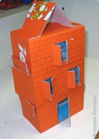 Курочкина Аня. Многоэтажный дом