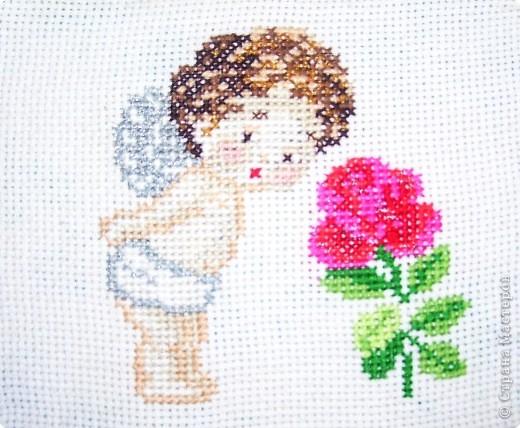 Вышивка крестом: Подарок для мамы