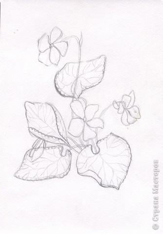 Рисуем цветы \часть1\ фото 1
