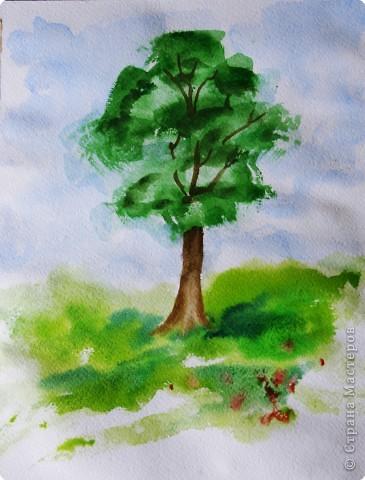 Рисование и живопись: Рисуем дерево