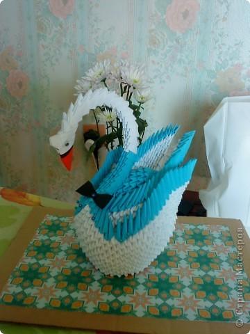 Оригами модульное: Подарок на свадьбу фото 4
