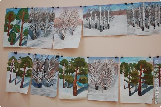 зимний пейзаж фото 2