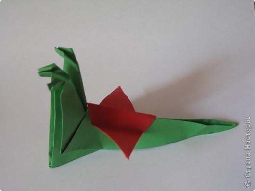 Оригами: Змей Горыныч