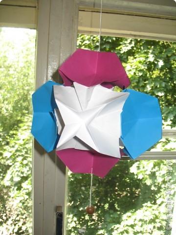 Оригами: Стыковка в космосе фото 1