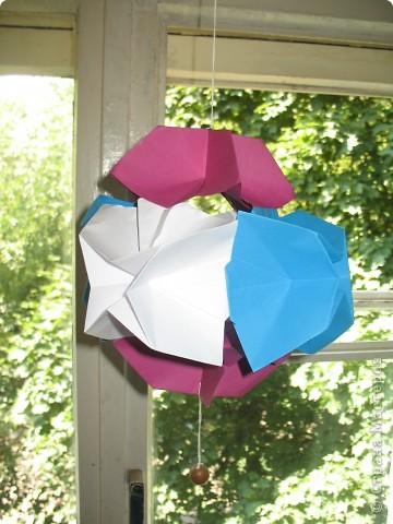 Оригами: Стыковка в космосе фото 2