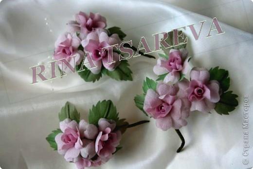 Шелковые цветы фото 3
