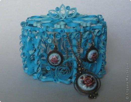 Голубая шкатулка. фото 1