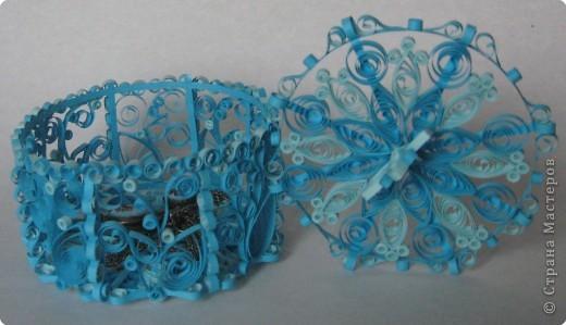 Голубая шкатулка. фото 3