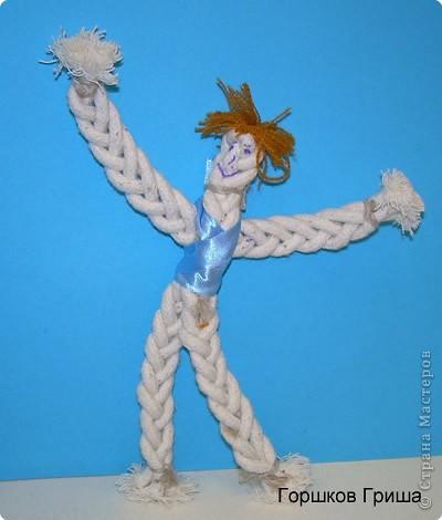 Плетёный человечек