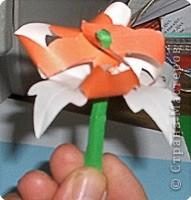 Оригами: Изготовление ГВОЗДИКИ из цветной бумаги