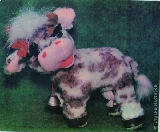 Игрушка мягкая: Мягкая игрушка- Корова фото 1