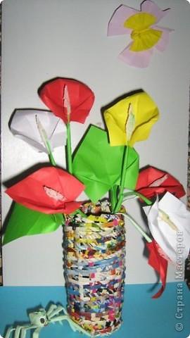 Оригами: Калы фото 15