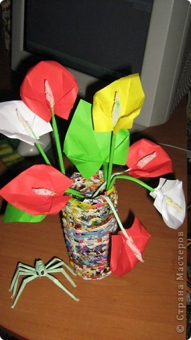 Оригами: Калы фото 1