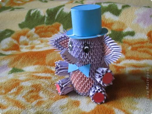 Оригами модульное: Слоненок