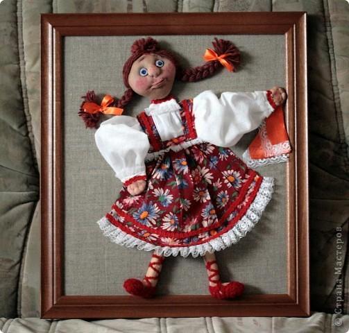 Панно с куклами
