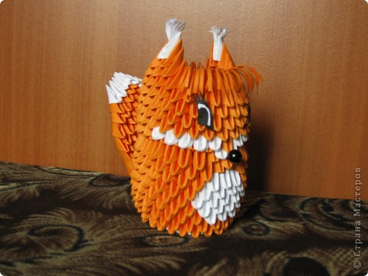 Оригами модульное: Белочка фото 2